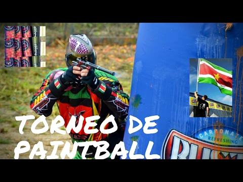 National Paintball Tournament Suriname 2015