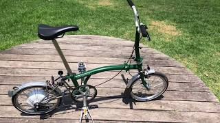 Electric Brompton Review - 2018 New conversion kit