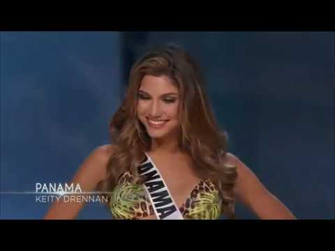 Keity Drennan Miss Panama Preliminary Competition Miss Universe 2016