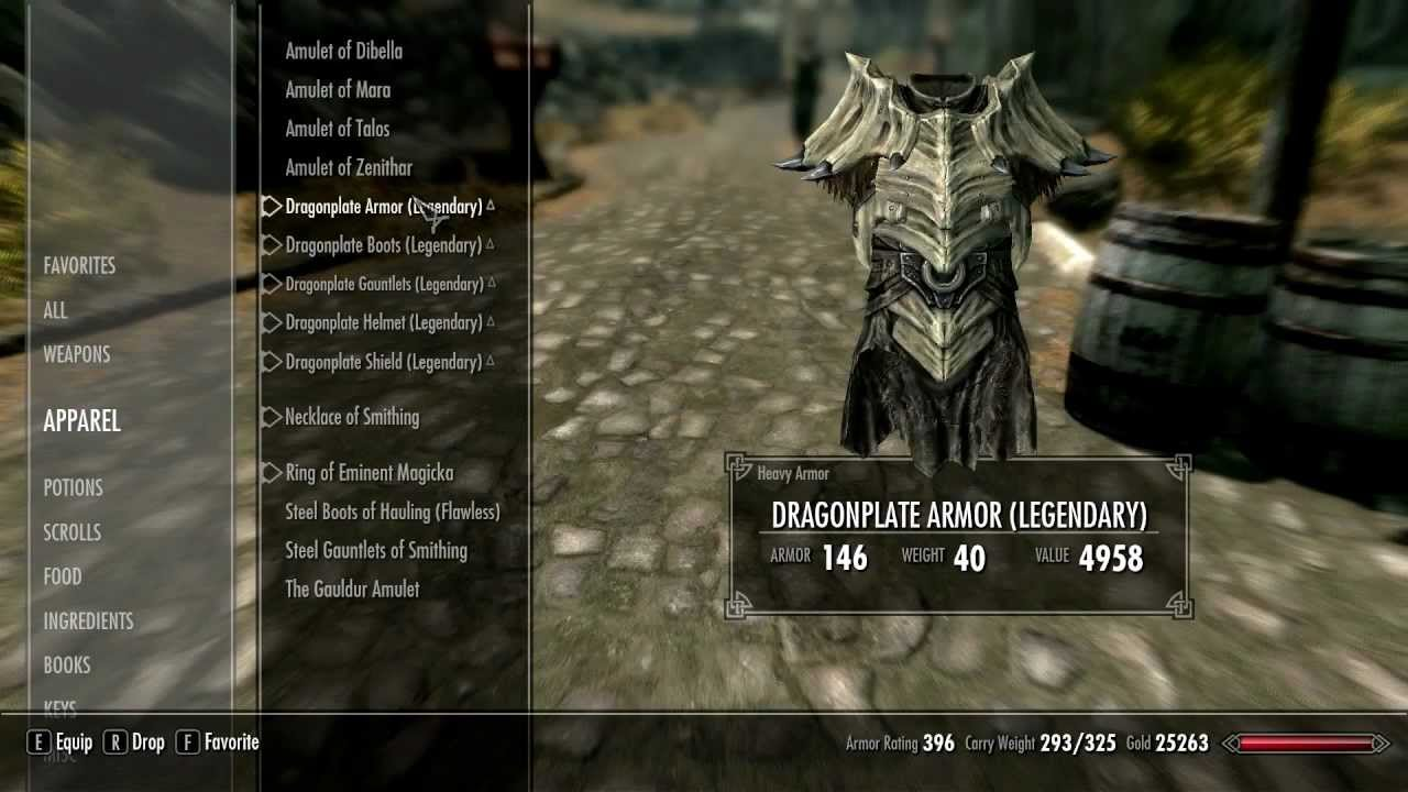 Skyrim Dragon Armor Improvements Youtube Dragon plate is the heavy armor. skyrim dragon armor improvements