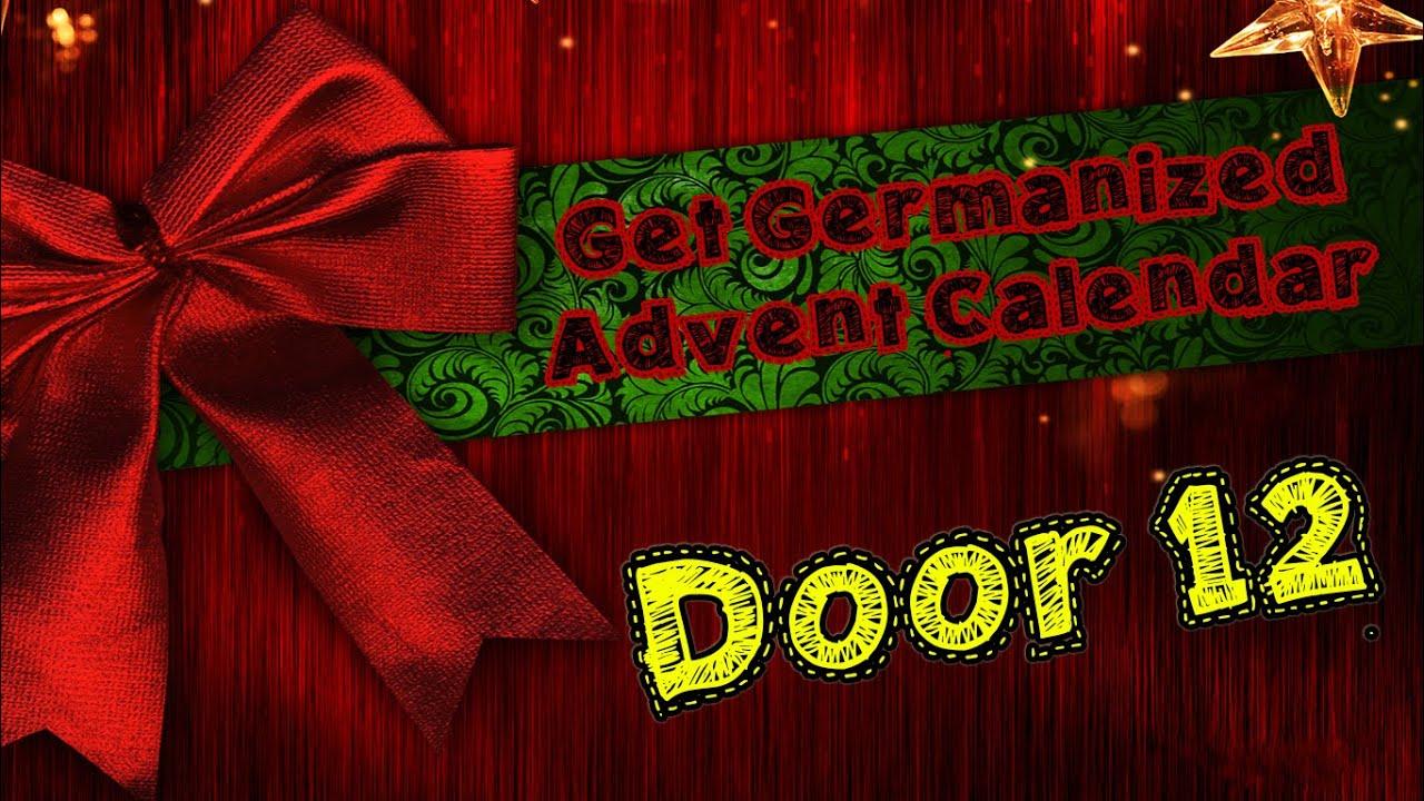 Door #12 | Get Germanized Advent Calendar - 24 Days Of Free German Chocolate - Get Germanized - YouTube & Door #12 | Get Germanized Advent Calendar - 24 Days Of Free German ...
