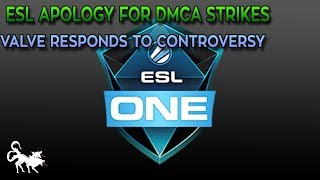 An update on the ESL filing DMCA strikes against Twitch Streamers