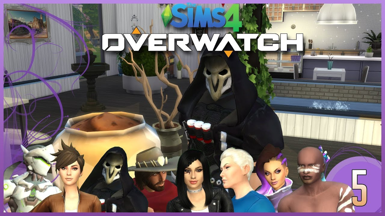 Sims 4 | Overwatch | 5 | Talon Bakery + DoomFist!