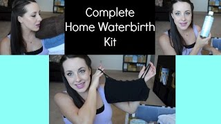 Complete Home Waterbirth Kit!