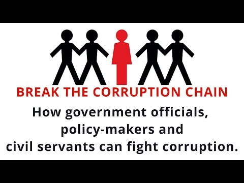 How Government Officials and Civil Servants Can Fight Corruption