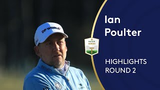 Ian Poulter shoots 66 | Round 2 Highlights | 2020 ASI Scottish Open