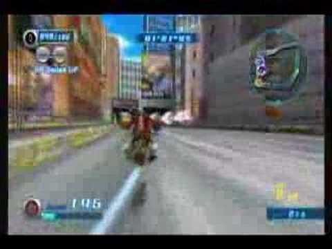 Sonic Riders Zero Gravity *80s Boulevard* Eggman