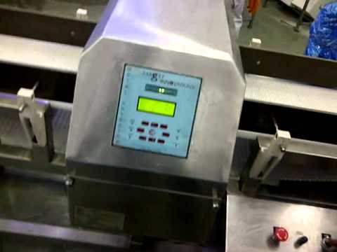 Metal Detector for Turnkey Frozen Food Projects - By TARGET SYSTEMS AND PROJECTS