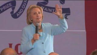Hillary Clinton Knocks Jeb Bush on Iraq 'Amnesia'