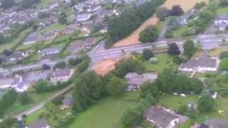 Pt 2 Of 2 Scratch Built Balsa Rc Plane With Parkzone Radian Glider Wing Over Cahir Tipperary