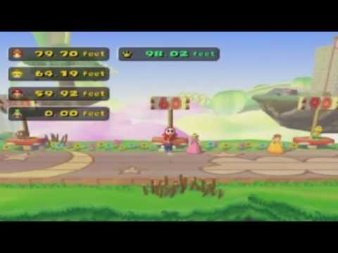 Mario Party 5 - Princess Daisy in Mini-Game Circuit