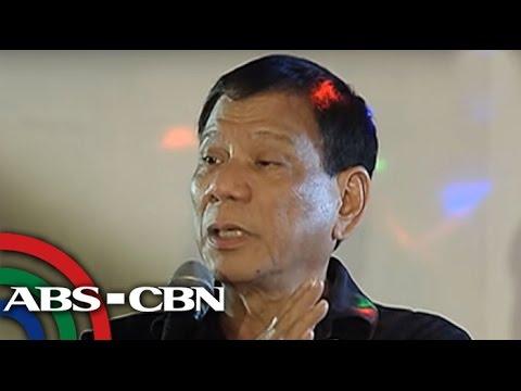 TV Patrol: Duterte, tatakbo sa pagka-Pangulo sa 2016