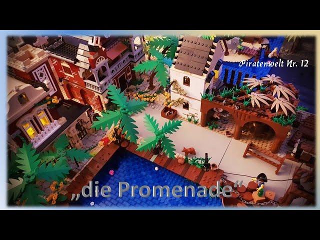 Lego Piraten im Steinekeller # 12 - die Promenade, erste Impressionen