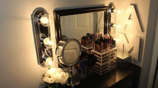Diy: Makeup Hollywood Vanity Lights