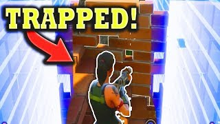 Fortnite Funny and WTF Moments (TRAPPED!!) (Battle Royale)