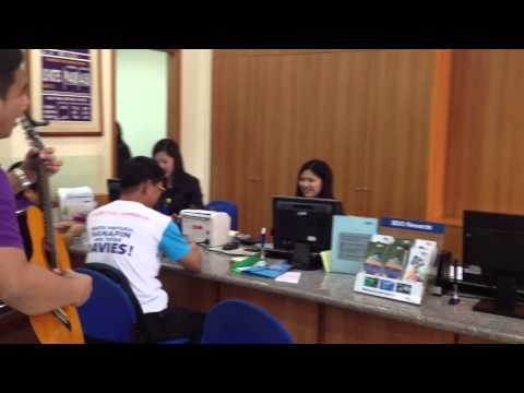 Singing Telegram / MODERN HARANA - Music First (BDO Meycauayan Teller)