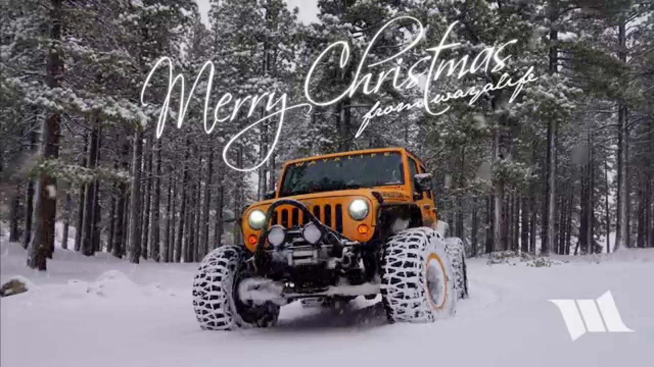 Christmas Jeep.Merry Jeepin Christmas From Wayalife