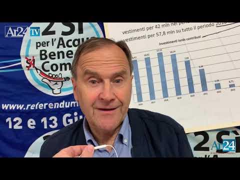 Gianfranco Morini, Presidente Comitato Acqua Pubblica