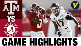 #13 Texas A&M vs #2 Alabama Highlights | Week 5 College Football Highlights | 2020 College Football