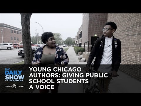 Thumbnail: Young Chicago Authors: Giving Public School Students a Voice: The Daily Show
