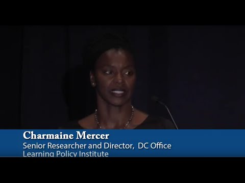 Welcome Remarks: Charmaine Mercer - Road To High Quality Early Learning: Lessons from the States