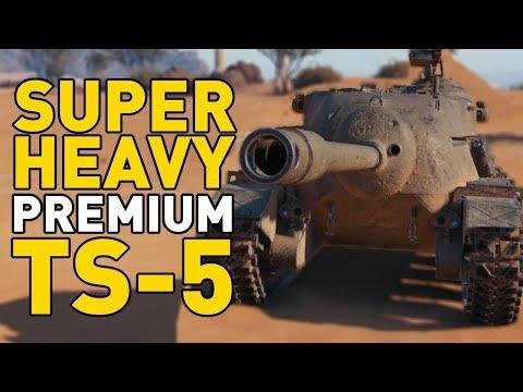 World of Tanks || Superheavy Premium: TS-5 thumbnail