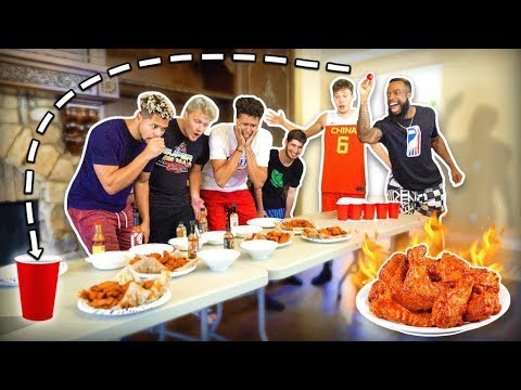 2HYPE Extreme HOT WINGS Cup Pong!