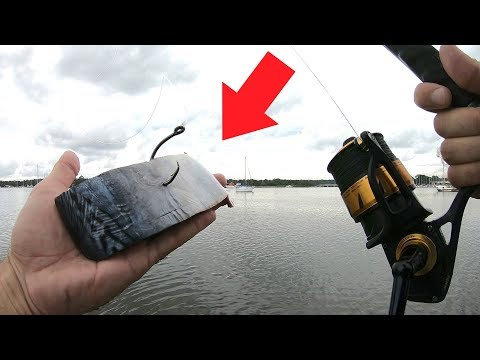 Using Huge Cut Bait For Bayou Monsters