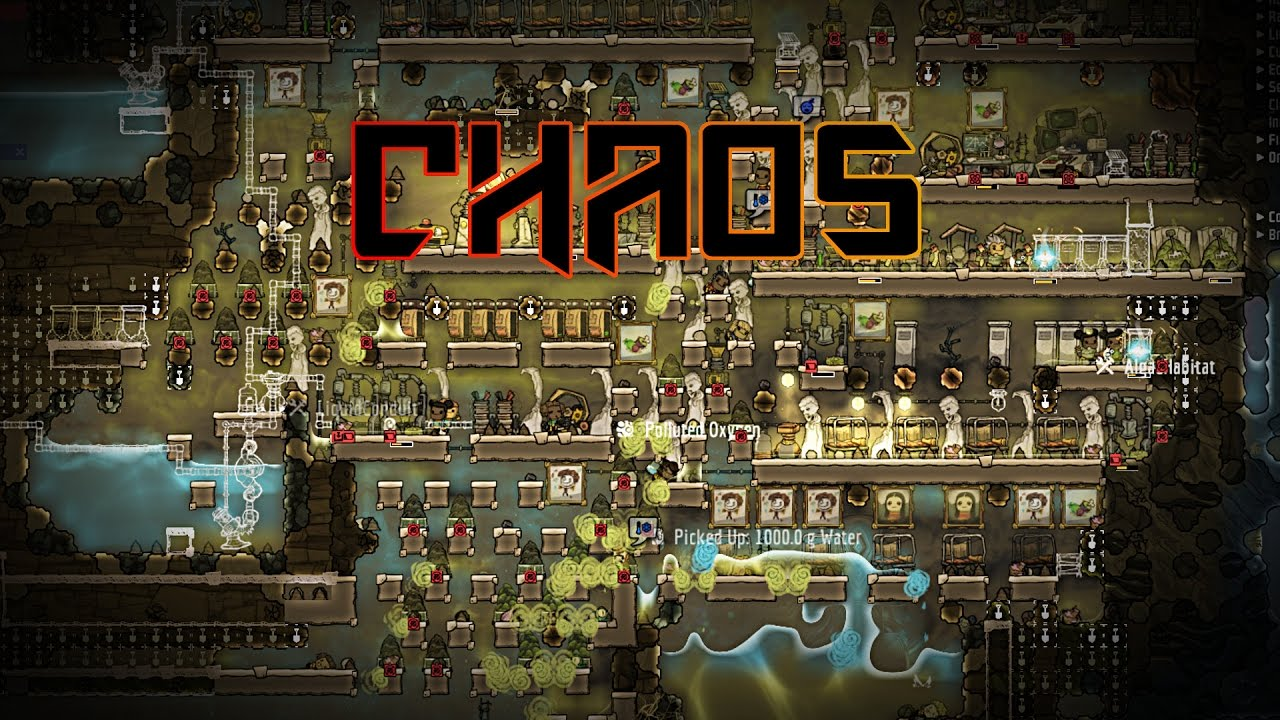 Priority Level Chaos! Oxygen Not Included Challenge