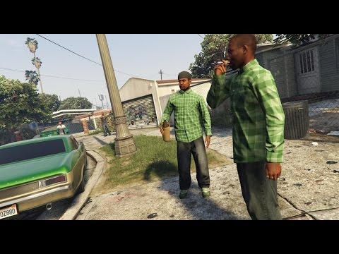 GTA V - Grove Street Families Mod