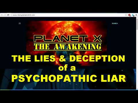Chronology of Lies Nibiru Planet X News Revealed