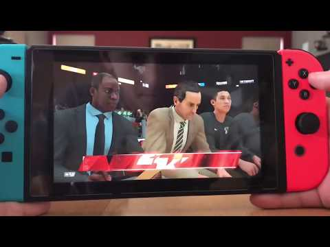 NBA 2k 18 Nintendo Switch My Career EP.1