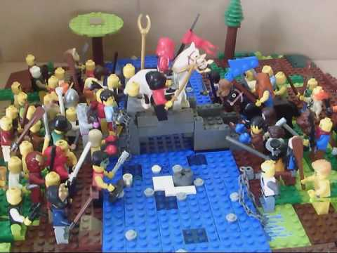 Battle of Stirling Bridge - Lego Animation