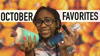 october favorties 2016