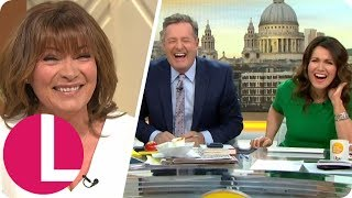 The Funniest Lorraine and Piers Morgan Live Links | Celebrating 35 Years of Lorraine | Lorraine