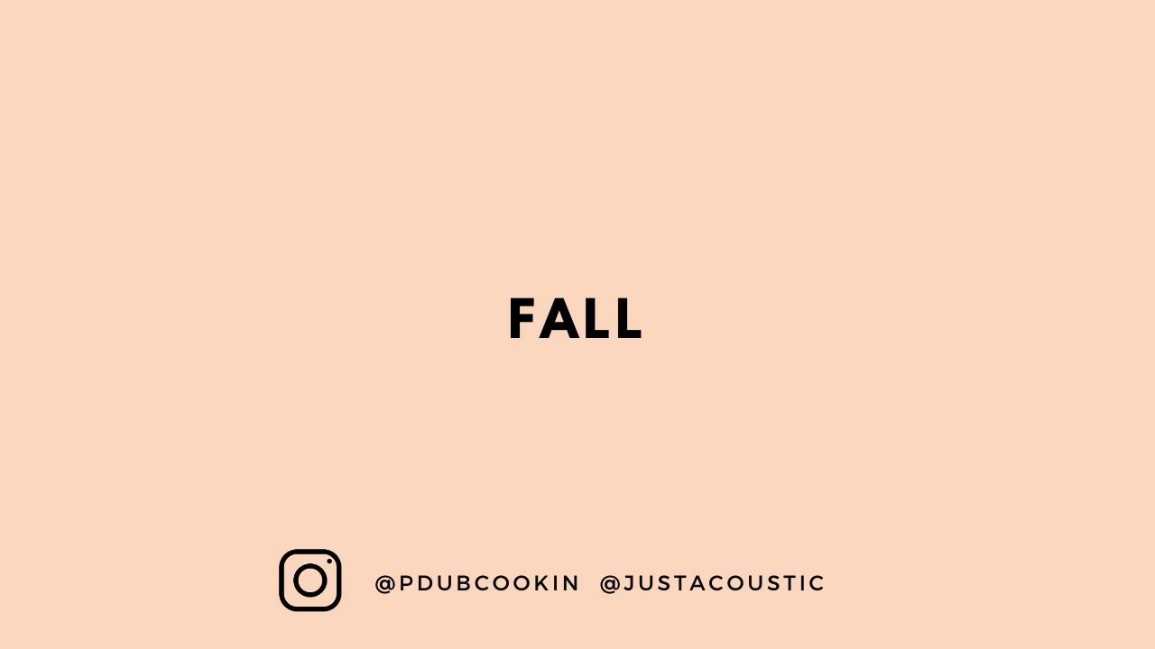 "R&B/Soul Guitar Instrumental - ""Fall"""