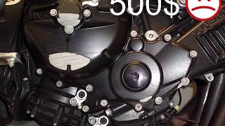 Video BMW к1200r k1300r Engine Cover Slider Protectors download MP3, 3GP, MP4, WEBM, AVI, FLV Juni 2018