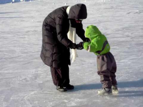 On ice in Helsinki