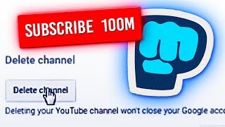 Will PewDiePie DELETE His Channel At 100 Million Subscribers? (ANSWERED)