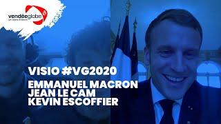 Vision - Emmanuel MACRON, Jean LE CAM & Kevin ESCOFFIER - 02.12