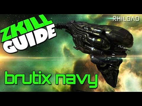 The Zkill guide to the Brutix navy issue : Eve