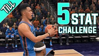 Nba Live 18 My Career - 5x5x5 Stat Challenge (Nba live 18 The One)