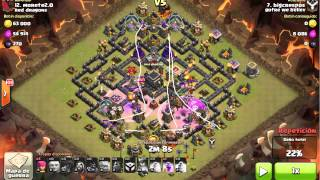 Clash of clans, Guerra contra Red Dragon