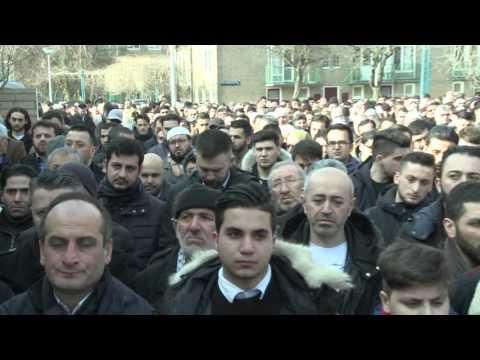 Osman Turkoglu Cenaze Namazi
