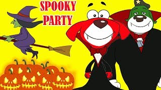 Rat-A-Tat |'Spooky Parties Three Mice Halloween Cartoons 2018'| Chotoonz Kids Funny Cartoon Videos