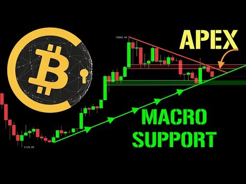BITCOIN HITS $8,000!!! WILL SUPPORT HOLD???