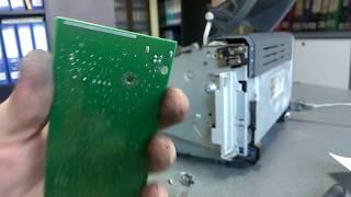 Ремонт плати форматера принтера HP 1010 (заміна USB роз'єму)