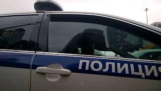 Борзый по гражданке на патрульной под 3.27 ПДД. Москва Сити. 11.12.2019 г.
