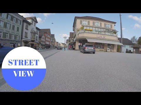 STREET VIEW: Gossau bei St. Gallen in SWITZERLAND