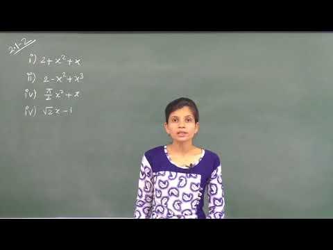MATHS-IX-2-02 Polynomial Exercise Pradeep Kshetrapal  channel